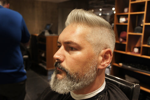 aonobarbershop, aono, harvey nichols, barber, hair cut, beard trim, daimon barber clay pomade, daimon barber, daimon barber softening beard and stubble serum
