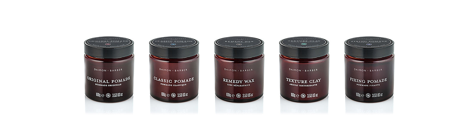Daimon Barber Hair Pomades