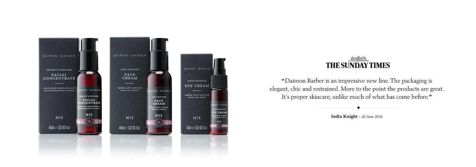 Daimon Barber The Sunday Times India Knight