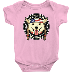 Be Willie Kind to Animals Onesie