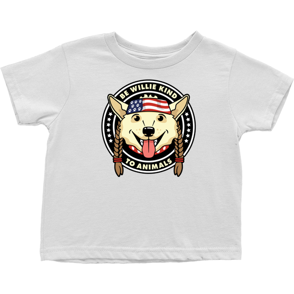 Be Willie Kind to Animals Infant Tee