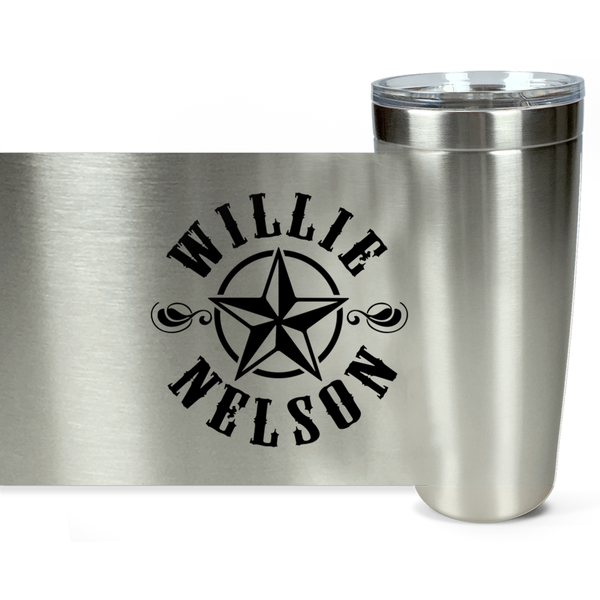 Star Logo stainless Steel 20oz Tumber