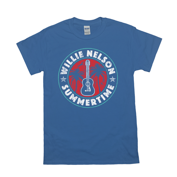 Willie Nelson Summertime Shirt