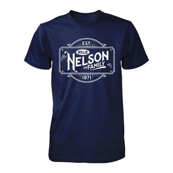Exclusive Willie Nelson & Family Est. 1971 T-Shirt