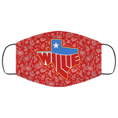 Willie Texas Face Mask