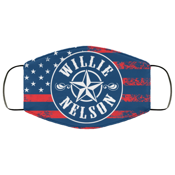 Willie U.S. Flag Face Mask