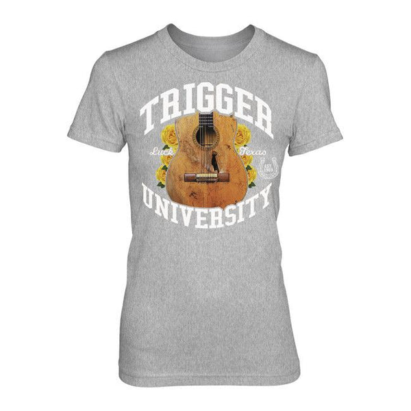 Trigger University Ladies Grey Tee