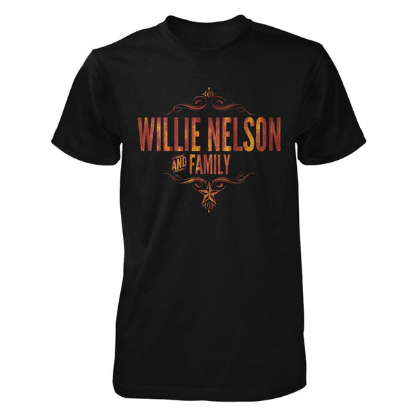 Willie & Family Vintage Rust T-Shirt