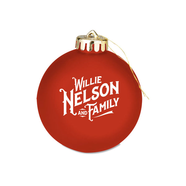Willie Nelson and Family Ornament