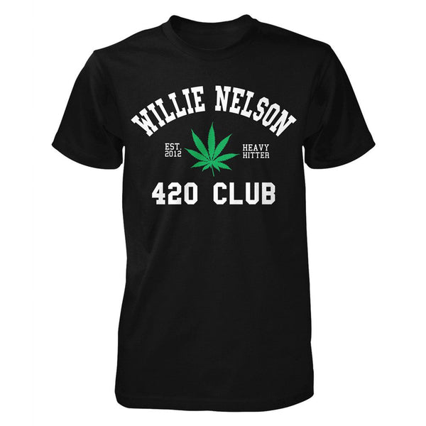 c579f44dceb Willie Nelson 420 Club T-Shirt