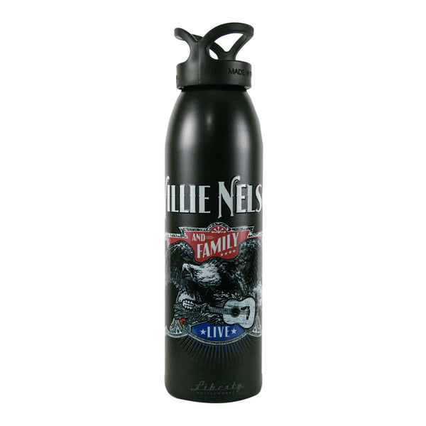 Willie Nelson Live Eagle Water Bottle