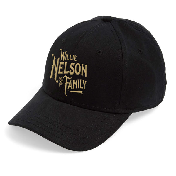 Willie and Family Black and Gold Hat