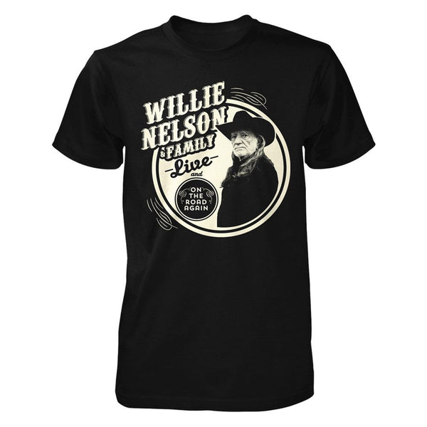 Willie & Family Live Tee
