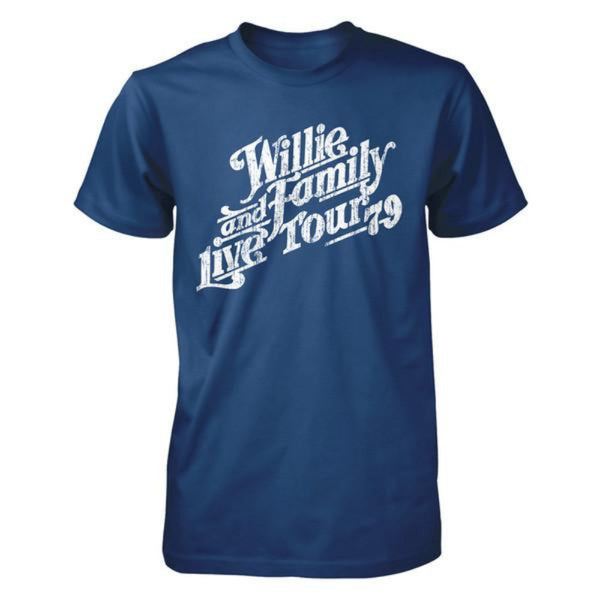 Willie and Family Live 79 Tour Tee