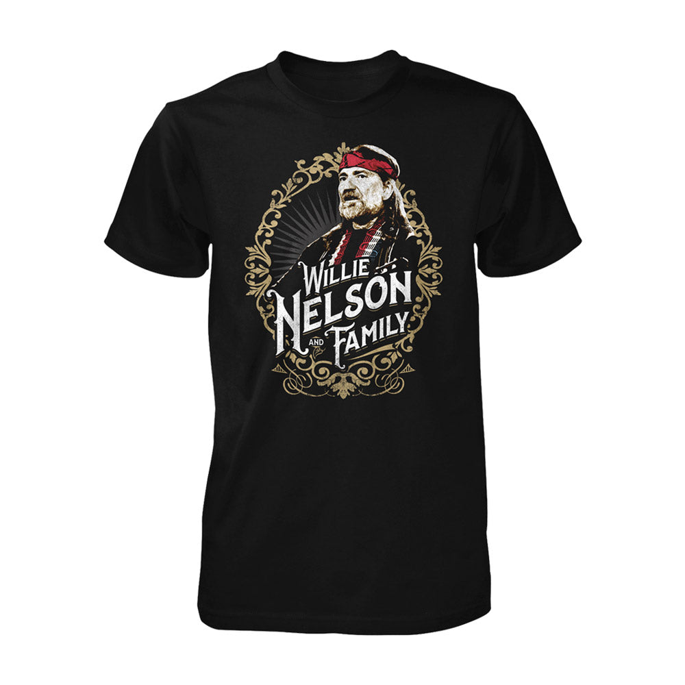 Willie and Family Red Bandana Tee