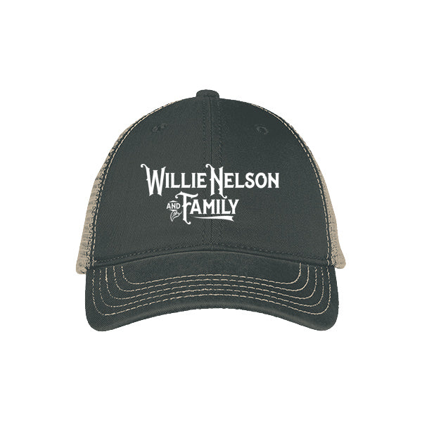Willie Nelson and Family Mesh Back Cap