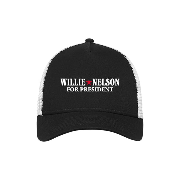 Willie Nelson for President Trucker Cap