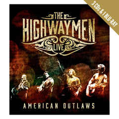 The Highwaymen Live - American Outlaws (3-CD/Blu-Ray) Box set