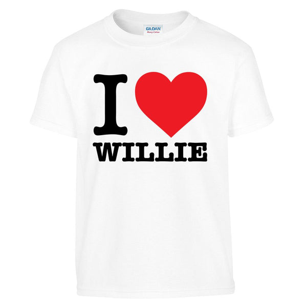 I Heart Willie Kid's Tee