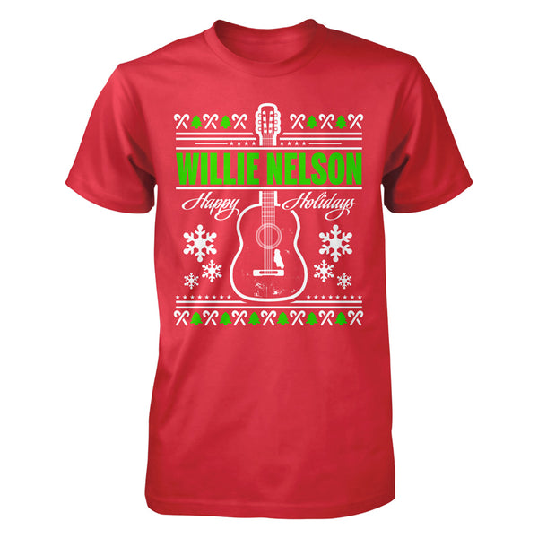 Willie Nelson Holiday Tee