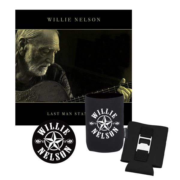Willie Nelson Last Man Standing CD Bundle
