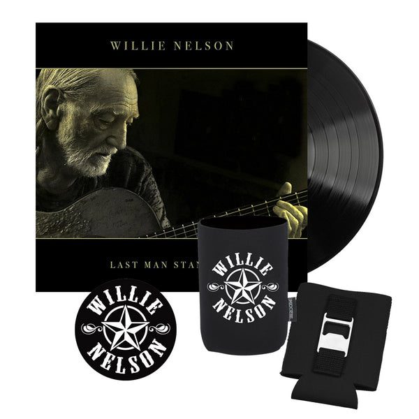 Willie Nelson Last Man Standing LP Bundle