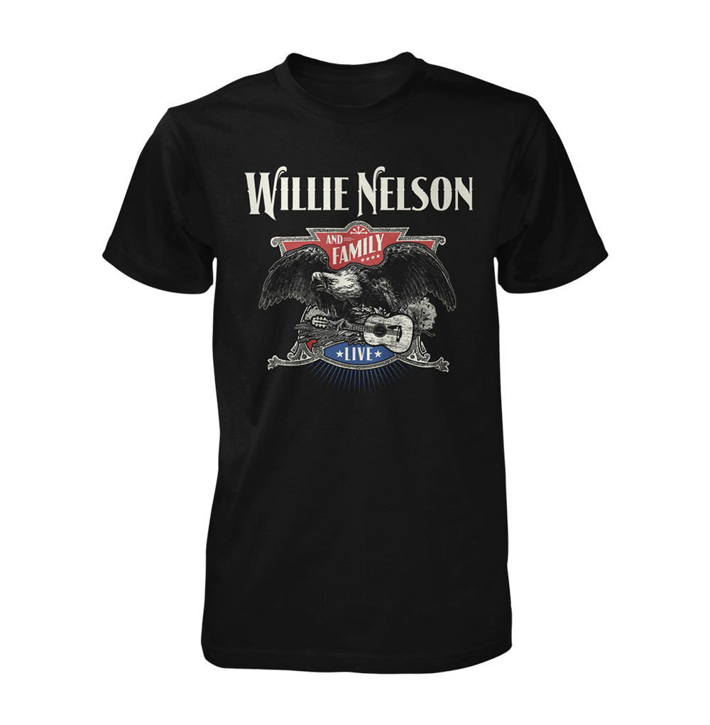 Willie Nelson Live Eagle Tee