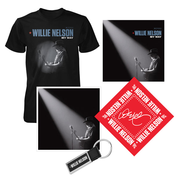 Willie Nelson My Way CD Fan Bundle