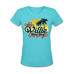 Willie Nice Day Maui V-Neck