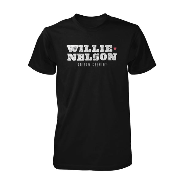 Willie Nelson Outlaw Country Tee