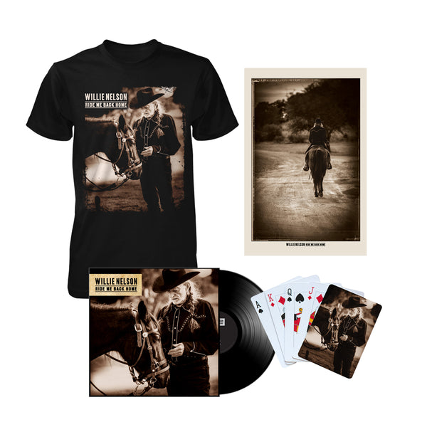Ride Me Back Home Exclusive Bundle (LP)