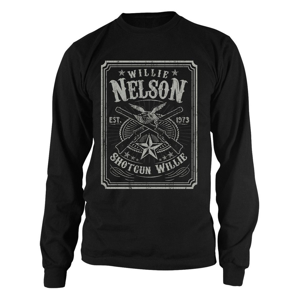 Retro Shotgun Willie Long Sleeve