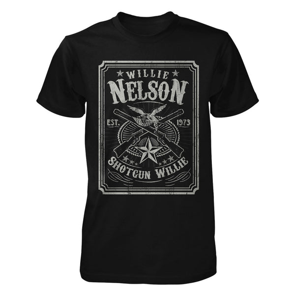 Official Retro Shotgun Willie Nelson Tee