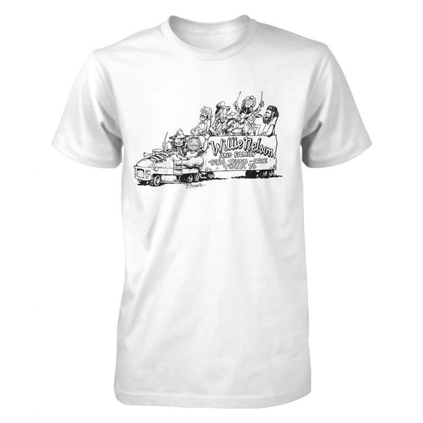 Willie and Family Shoe Tour '76 Tee