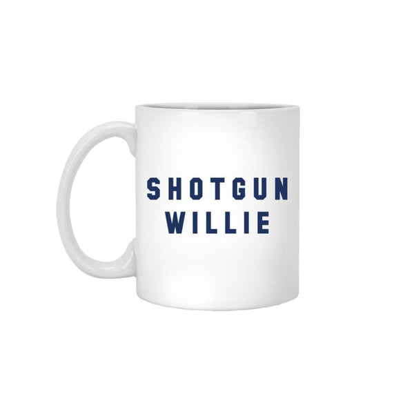 Shotgun Willie White Mug