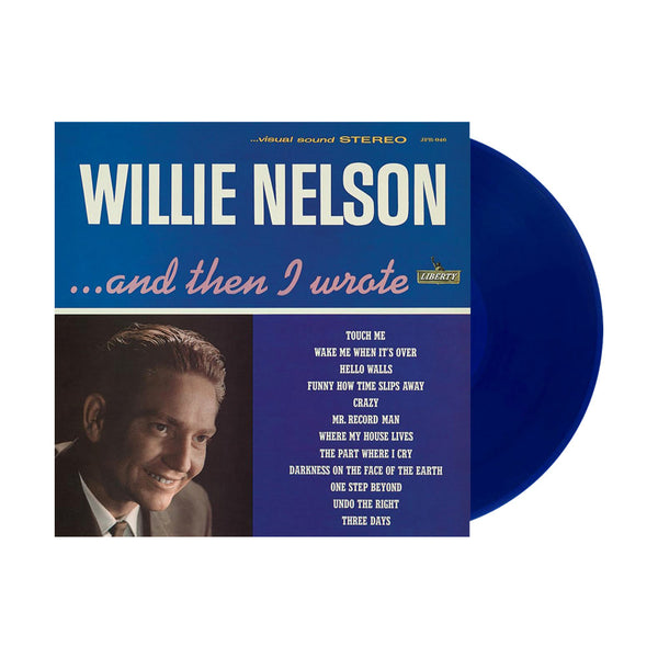 Willie Nelson ...And Then I Wrote LP (REISSUE COLORED VINYL)