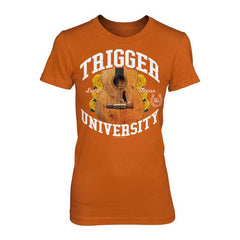 Trigger University Ladies Burnt Orange Tee