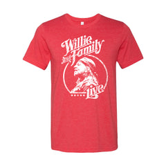 Exclusive Willie & Family Live Vintage Heather T-Shirt