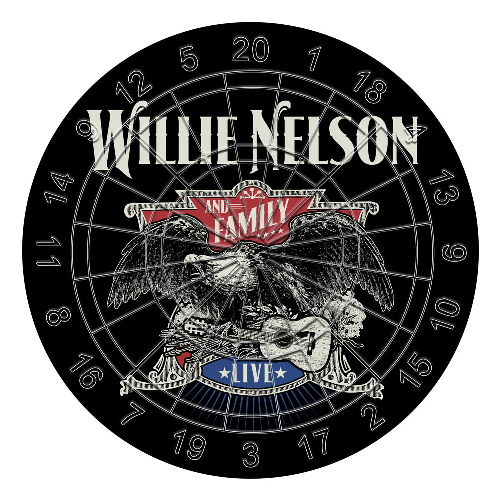 Willie Nelson Dartboard