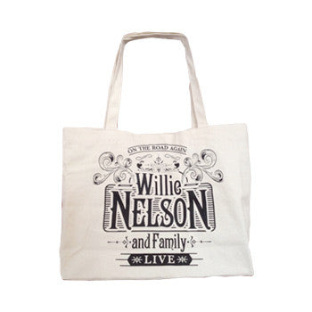 Willie Nelson Live Deluxe Canvas Tote