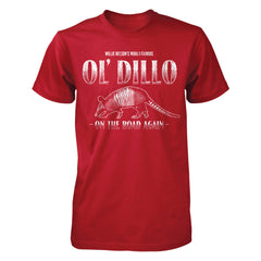 Willie Nelson Ol' Dillo Tee