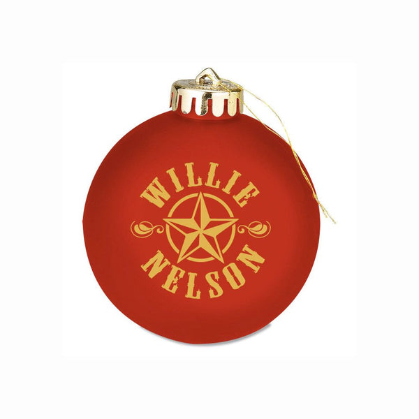 Willie Christmas Red Ornament