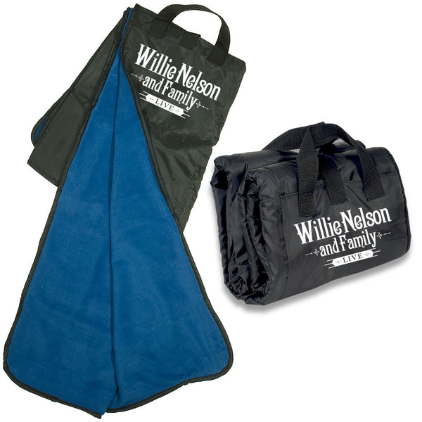 Willie Nelson Picnic Blanket