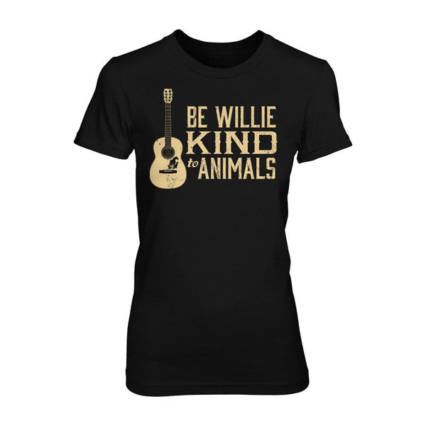 Be Willie Kind to Animals Trigger Womens Tee
