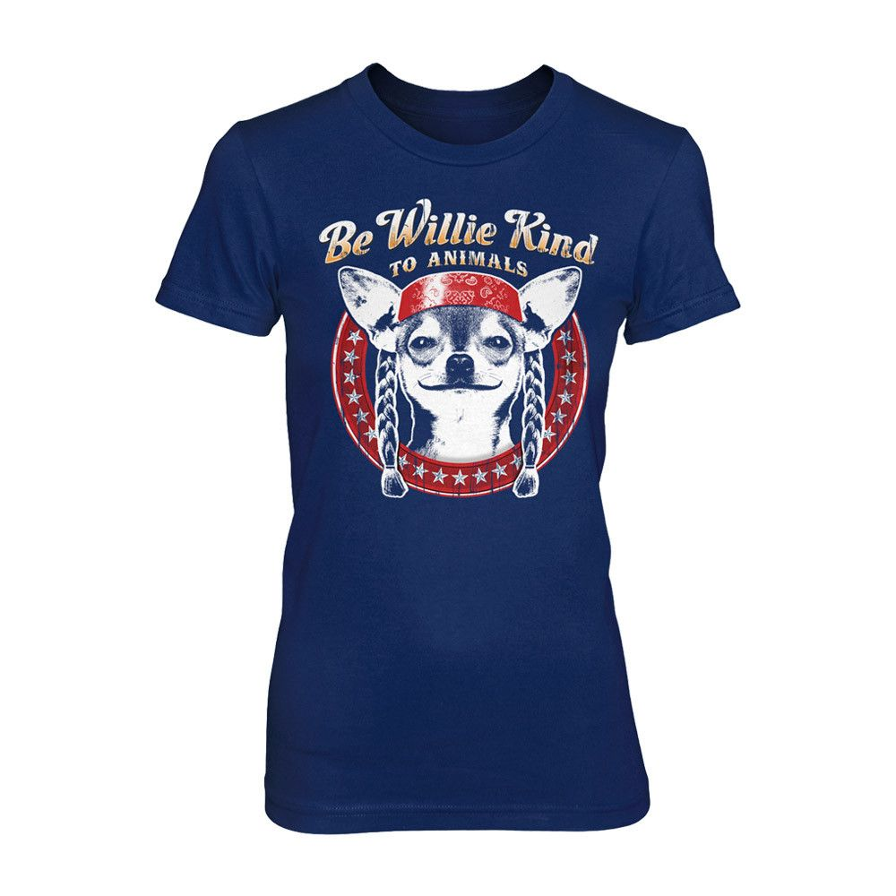 Be Willie Kind to Animals Women's Tee
