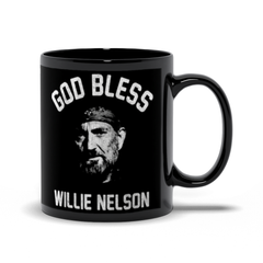 God Bless Willie Nelson 11oz Mug