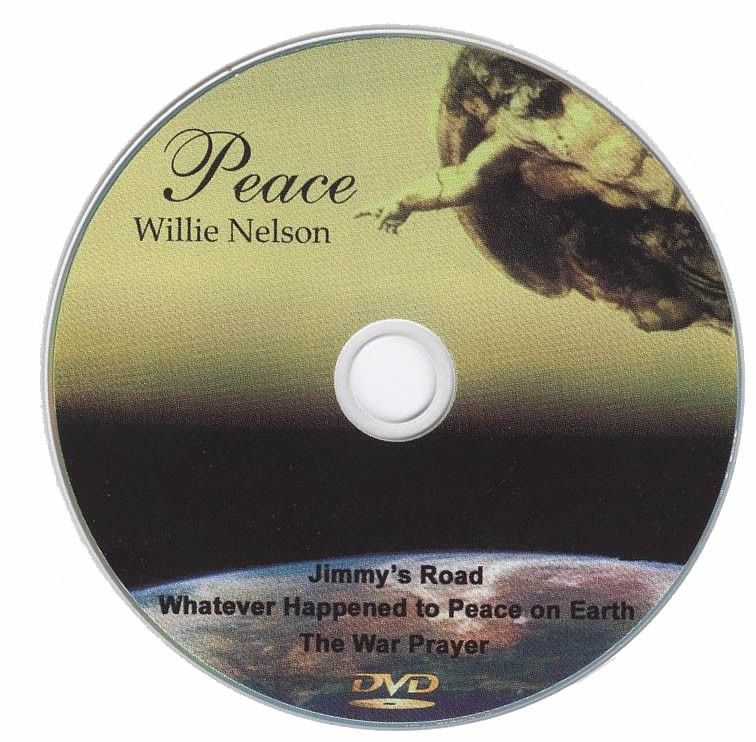 Willie Nelson Peace DVD