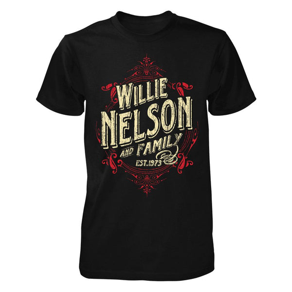 Willie Nelson Est. 1973 Exclusive T-Shirt-XX-Large