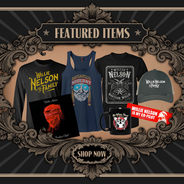 d2157cf2 About Willie Nelson. Official Willie Nelson merchandise store!