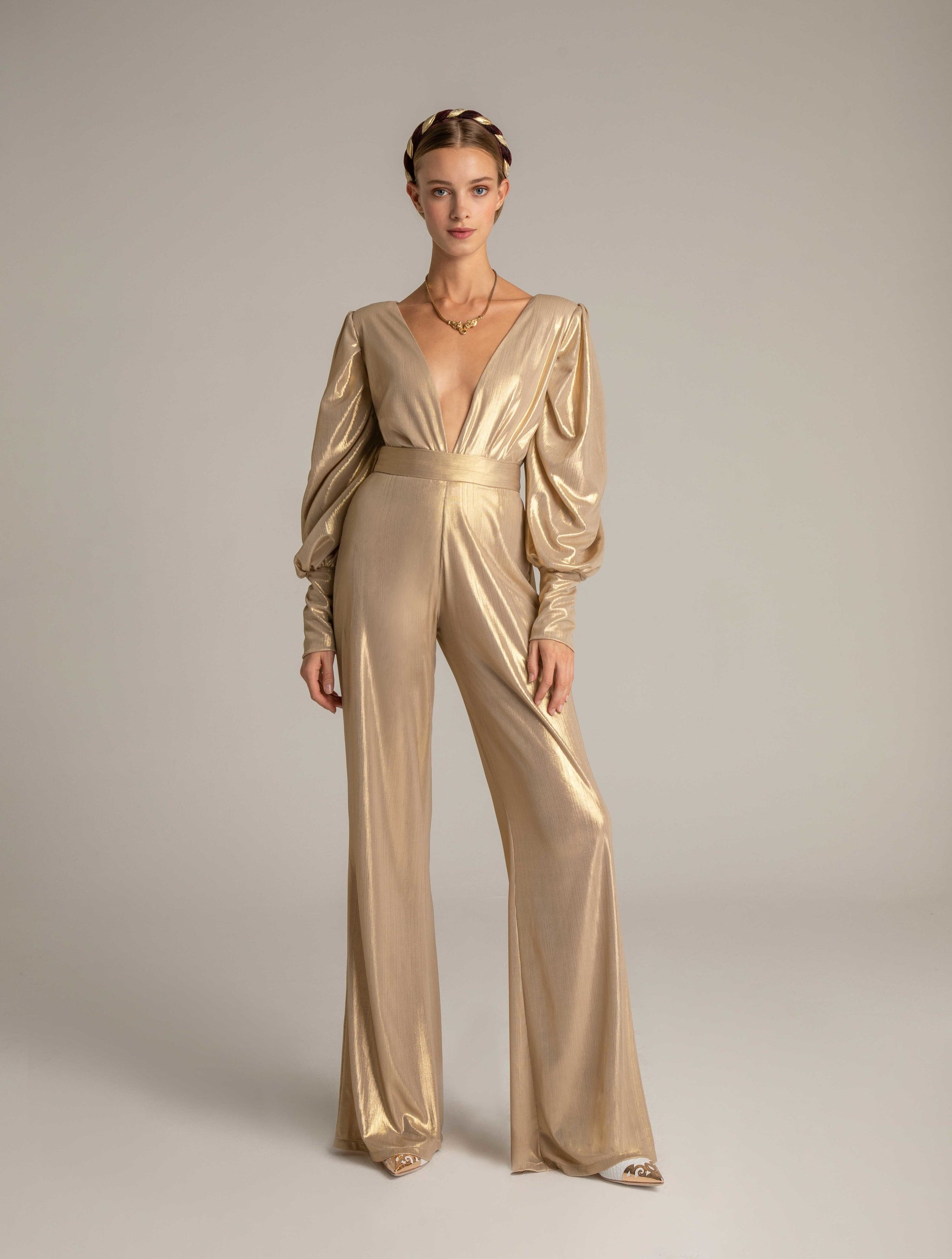 NAMORA PANTS IN GOLD